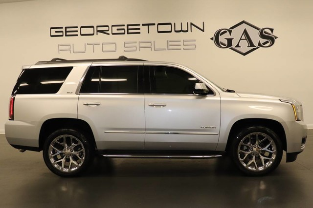 2015 Gmc Yukon Slt >> Pre Owned 2015 Gmc Yukon Slt Rear Wheel Drive Suv