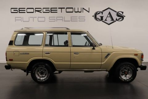 Pre-Owned 1987 Toyota Land Cruiser